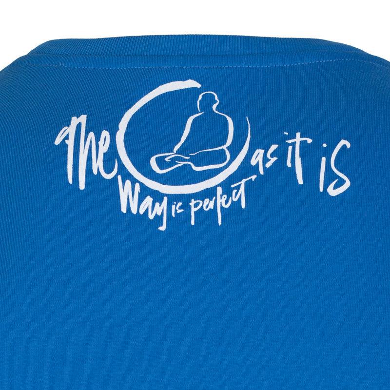 A Zen wisdom t-shirt with an inspiring message.