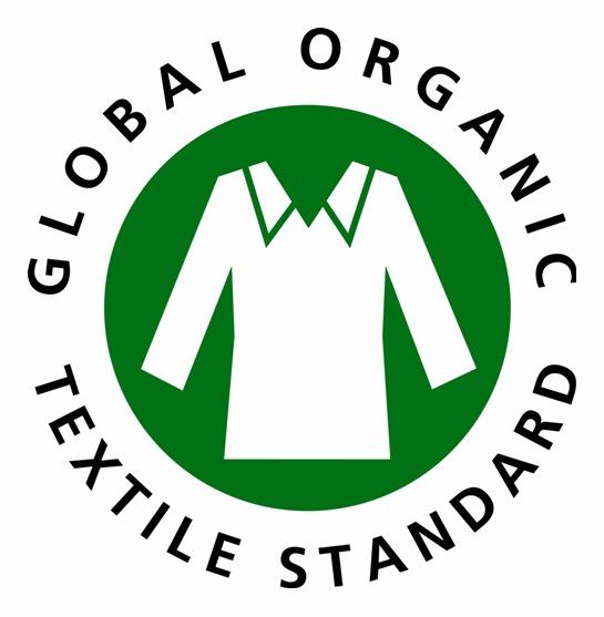 Organic cotton logo from GOTS