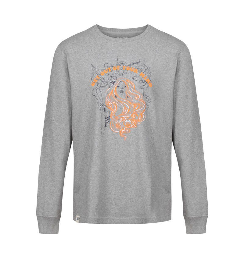 Summer of Love themed long sleeve, mindful t-shirt