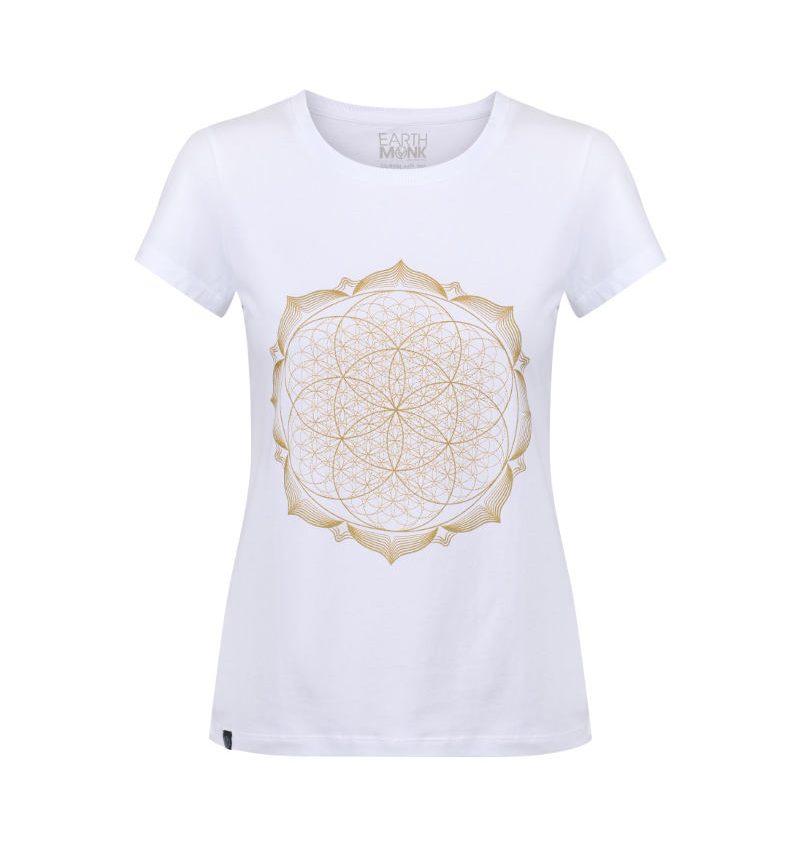 Lotus flower mandala (sacred geometry) spiritual t-shirt print