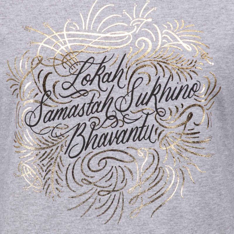 Lokah Samastah Sukhino Bhavantu T-shirt