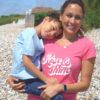 'Rise and shine' hot pink, spiritual, inspirational, organic T-shirt